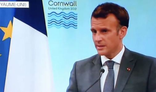 'Europeans know ALL about UK sovereignty' Macron in sarcastic rant at Britain in G7 speech