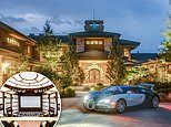 Colorado mansion nicknamed Thunder Ridge which has a 100-car showroom hits the market for $20million