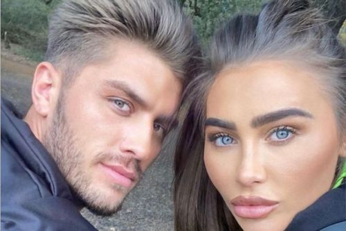 Who is Lauren Goodger's boyfriend Charles Drury as she announces pregnancy