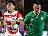 Rugby World Cup team of the week: Japan dominate with EIGHT players