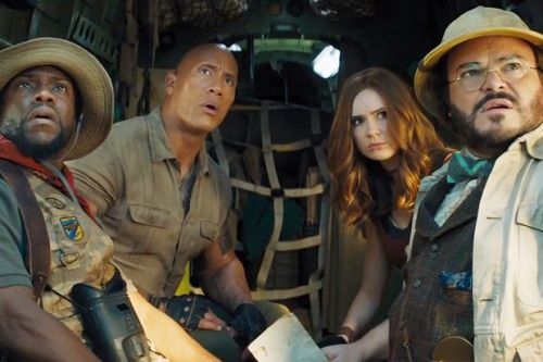 When is Jumanji: The Next Level released in cinemas? Who's in the cast and is there a trailer?