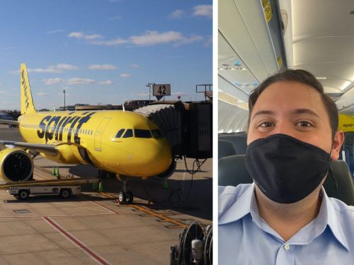I flew on the Spirit Airlines' first 'shuttle' flight from Newark to Boston for $25 and still overpaid - here's why it's a great budget option