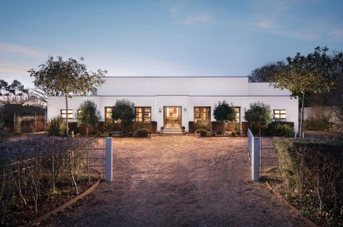 Inside a former water-pumping station turned beautiful eco-friendly property
