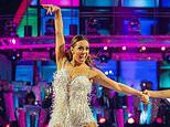 Strictly bosses are recycling dresses from two years ago as Amy Dowden wears Alexandra Burke's old threads