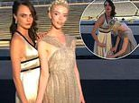 Cara Delevingne gets help with her dress from Anya Taylor-Joy in sweet clip