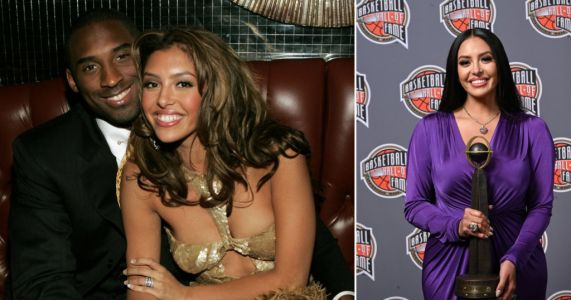 Kobe Bryant's widow Vanessa gives emotional tribute as he's inducted into the Hall of Fame