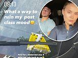 'Ruined my mood': Molly-Mae Hague infuriated as she discovers parking fine on £32k Range Rover