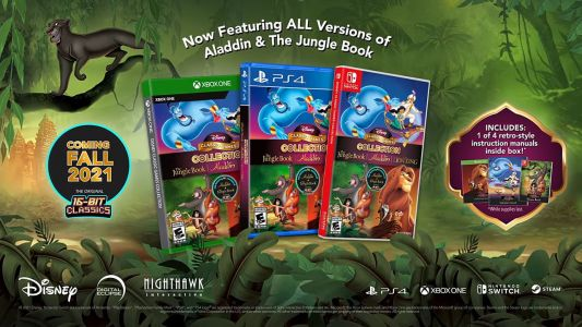 Disney Is Launching an Updated Classic Games Collection on PC, Consoles
