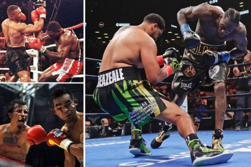 The biggest knockout fighters in boxing history, including Deontay Wilder to big punching legend Earnie Shavers