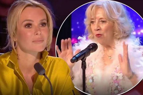 Britain's Got Talent judges get huge surprise as Sue Forrest takes to the stage