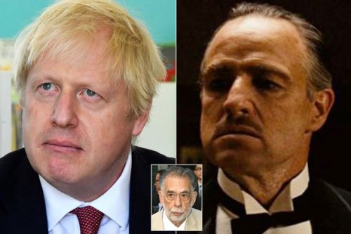 The Godfather director fears his film will help Boris Johnson 'bring UK to ruin'