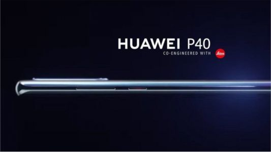 Huawei P40 Leaked Render Seems to Confirm Some of the Rumoured Specs