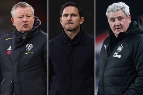 Premier League next manager sacked odds: Chelsea boss Frank Lampard ODDS-ON after Leicester defeat, Bruce close behind