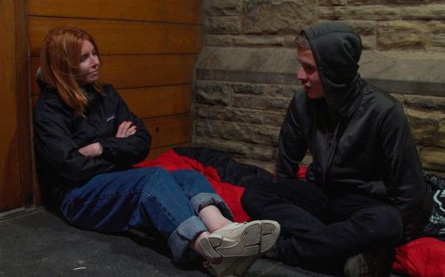 Stacey Dooley: The Young and Homeless, review - an illuminating film strengthened by Dooley's easy charm