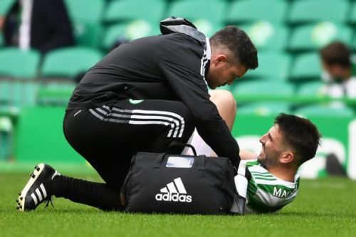 Greg Taylor's Celtic injury timeframe revealed as defender could face up to two months out