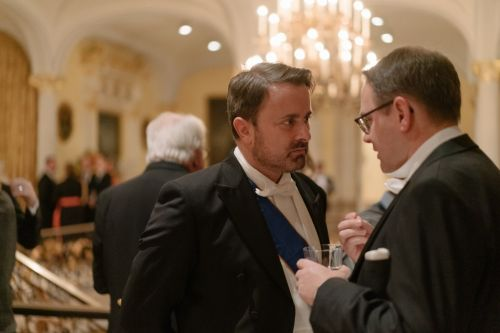 Luxembourg royals host New Year reception