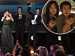 Parasite is FIRST foreign language film to win top prize at SAG Awards