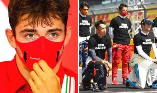 Charles Leclerc slams backlash for not taking a knee at F1 Grands Prix - 'I am not racist'