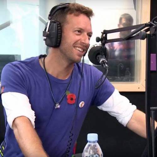 Chris Martin: 'I came up with Higher Power by drumming on a sink!'