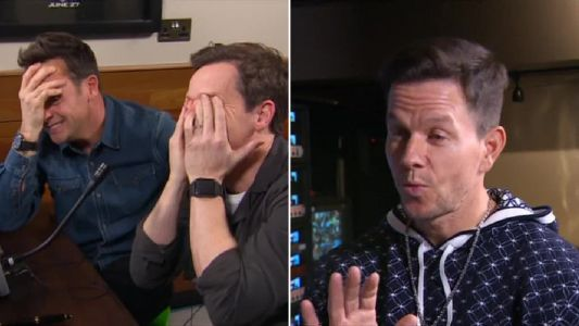 Ant and Dec 'cringe' in Mark Wahlberg Saturday Night Takeaway challenge after guests failed to name one of his films