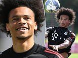 Leroy Sane trains with Bayern Munich following £55m move from Man City