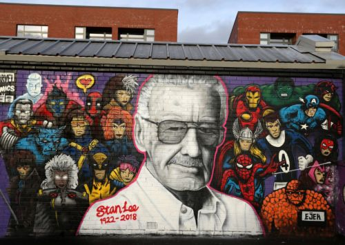11ft mural for comics legend Stan Lee unveiled in Glasgow