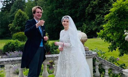 Princess Raiyah of Jordan marries Ned Donovan in first royal wedding in lockdown