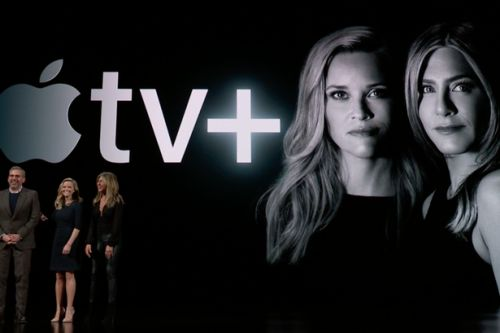 Jennifer Aniston, Steven Spielberg and OPRAH lead star-studded Apple TV+ launch event