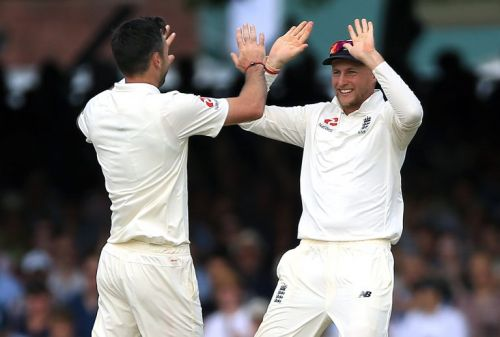 Question Jimmy power at your peril - Joe Root backs Anderson to fire for England