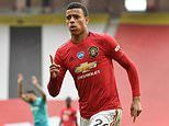 Manchester United rejected loan move from Crystal Palace for young star Mason Greenwood this season