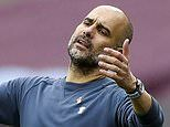 Pep Guardiola reveals Manchester City couldn't afford a new striker this summer