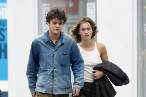 Johnny Depp's rarely seen son Jack enjoys cosy walk with Camille Jansen in Paris