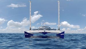 Energy Observer: This space-age catamaran/floating lab is powered by water