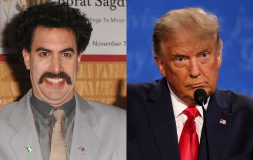 "Donald Trump calls Sacha Baron Cohen ""a creep"" after Rudy Giuliani scene in 'Borat' sequel"