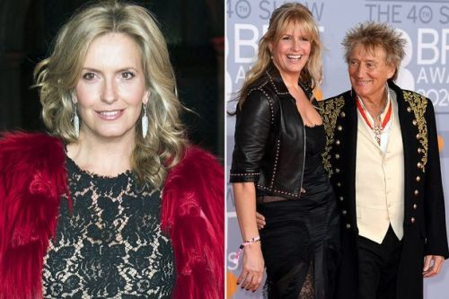 Penny Lancaster shares positive update on Rod Stewart after knee replacement operation