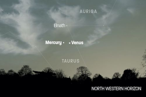 Here's your chance to spot Mercury, as it cosies up to Venus this weekend