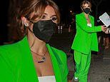 Olivia Jade Giannulli glows in green suit as she grabs dinner after impressive DWTS performance