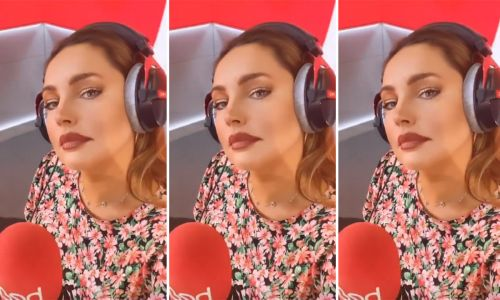 Kelly Brook looks unreal in pink floral dress - and it's only £22