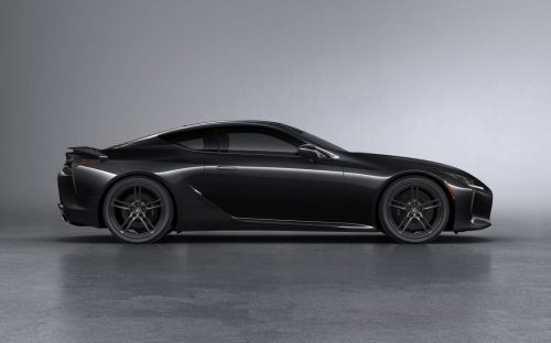 Lexus LC Black Inspiration special edition revealed for UK market