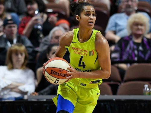 WNBA star Skylar Diggins-Smith played an entire season with the Dallas Wings while pregnant and 'didn't tell a soul'