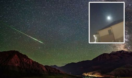 Fireball news: Meteor booms over US in stunning video