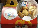McDonald's mother uses Happy Meal box to fill it with homemade chicken nuggets and Kinder Surprise