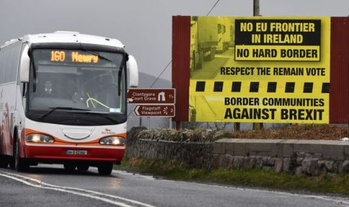 EU says hard Irish border 'obvious' under 'no-deal' Brexit as split emerges with Dublin