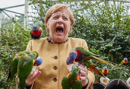 Utterly Joyous Photos Of Angela Merkel You Didn't Know You Needed