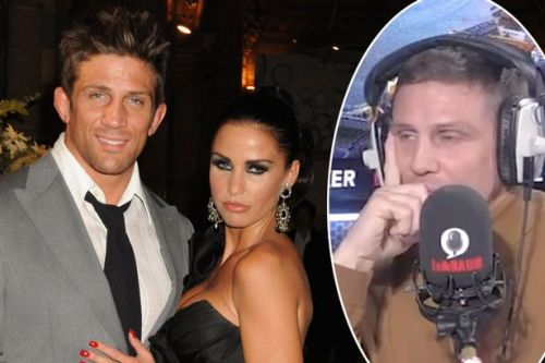 Alex Reid threatens to walk off radio show after being referred to as Katie Price's ex husband