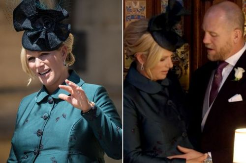 Zara Tindall suffers every pregnant woman's worst nightmare during royal wedding