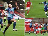 Fleetwood 1-4 Wycombe: Chairboys take a steps towards Wembley with major win in League One playoffs