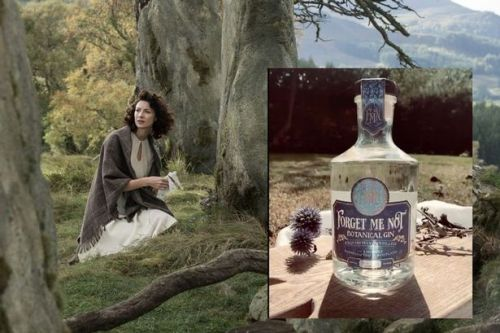 Outlander star Caitriona Balfe's Forget Me Not Scottish gin is finally here