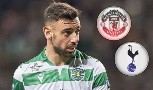 Bruno Fernandes to Man Utd: Sporting star makes transfer decision with Tottenham in mind