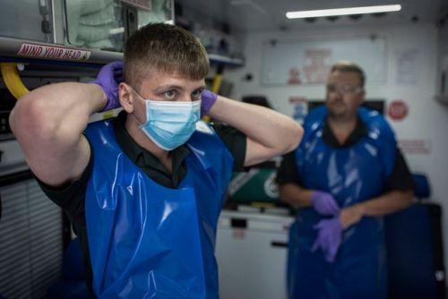 This Is What It's Like To Be A Paramedic On The Coronavirus Frontline